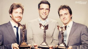 Corey, Zachary & Neal at the Indie Spirit Awards 2012