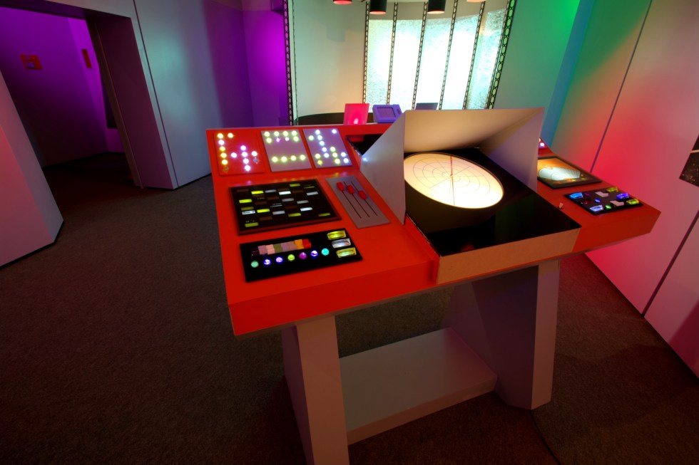View of the USS Enterprise Transporter Room