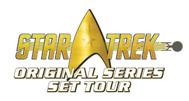 Star Trek Original Series Set Tour Logo