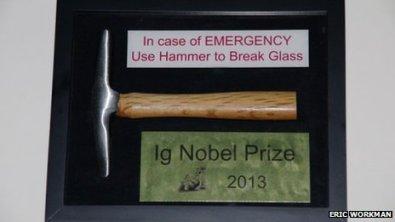 Los premios fueron presentados por 5 antiguos ganadores del Nobel