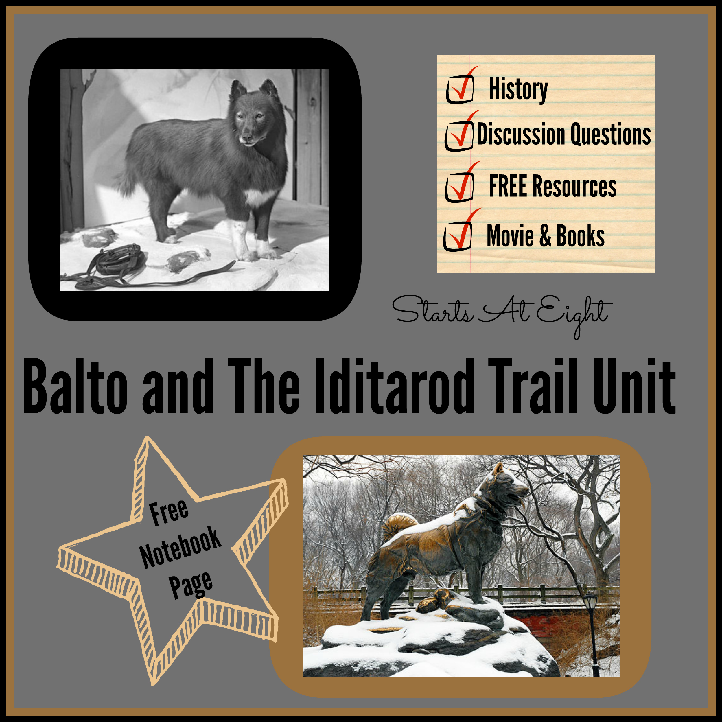 Balto Worksheets