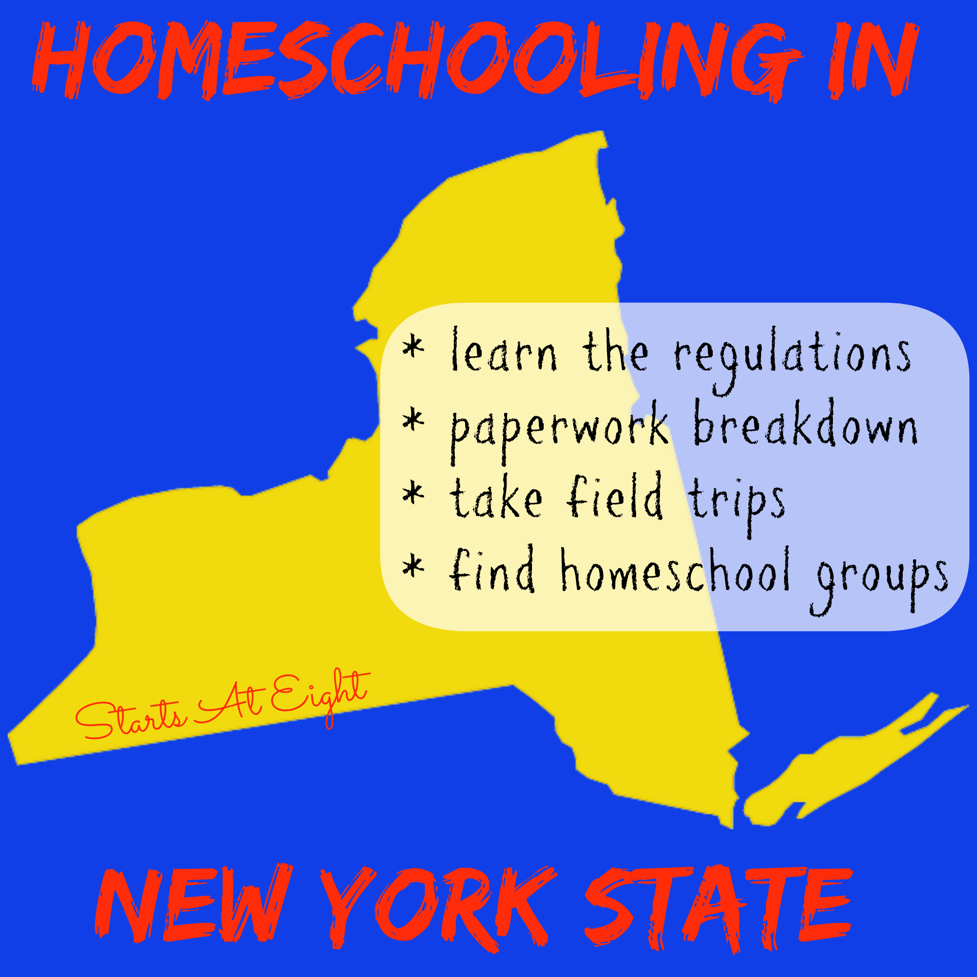 Homeschooling In New York State