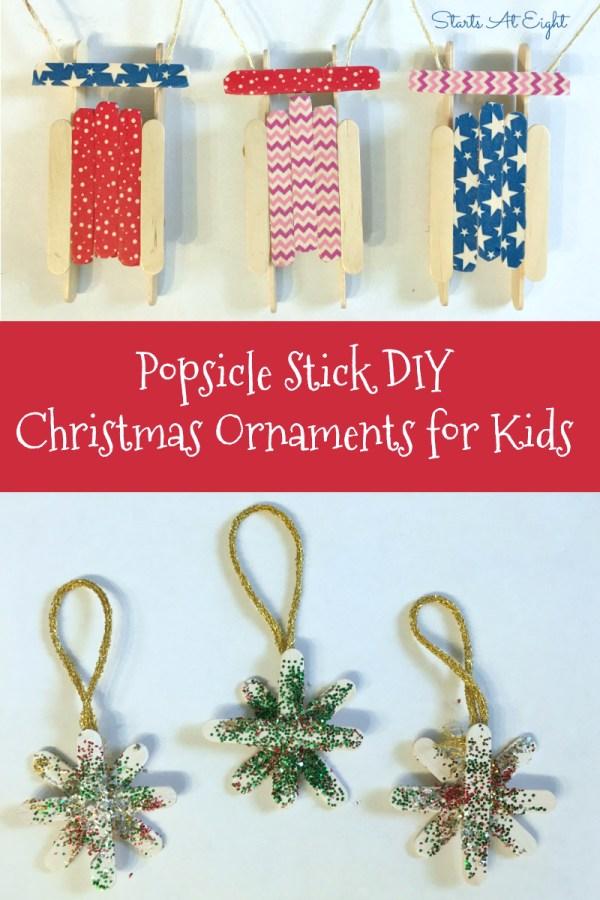 christmas ornaments popsicle sticks # 17