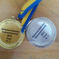 Turniere - Vereinseinzelmeisterschaft 2015 - Turnierrückblick 2015