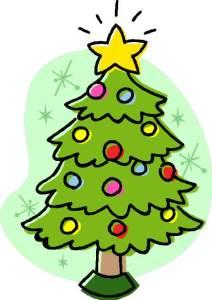 Weihnachtsferien - Weihnachtsbaum