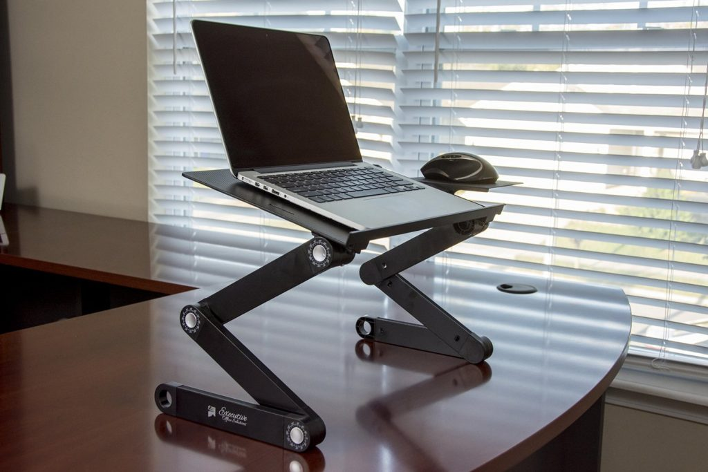 standing desk laptop stand