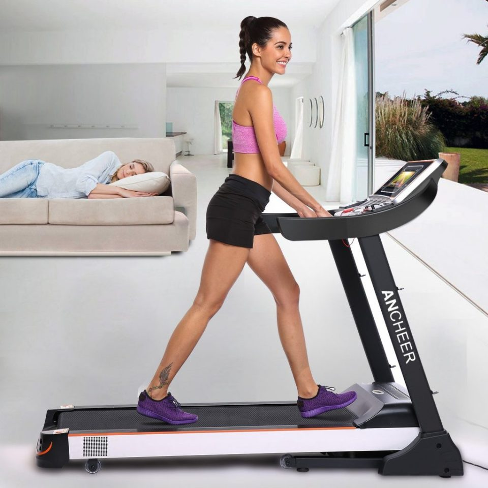 Ancheer quiet treadmill