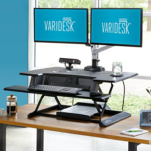 Varidesk Launches Electronic Standing Desktop Converter