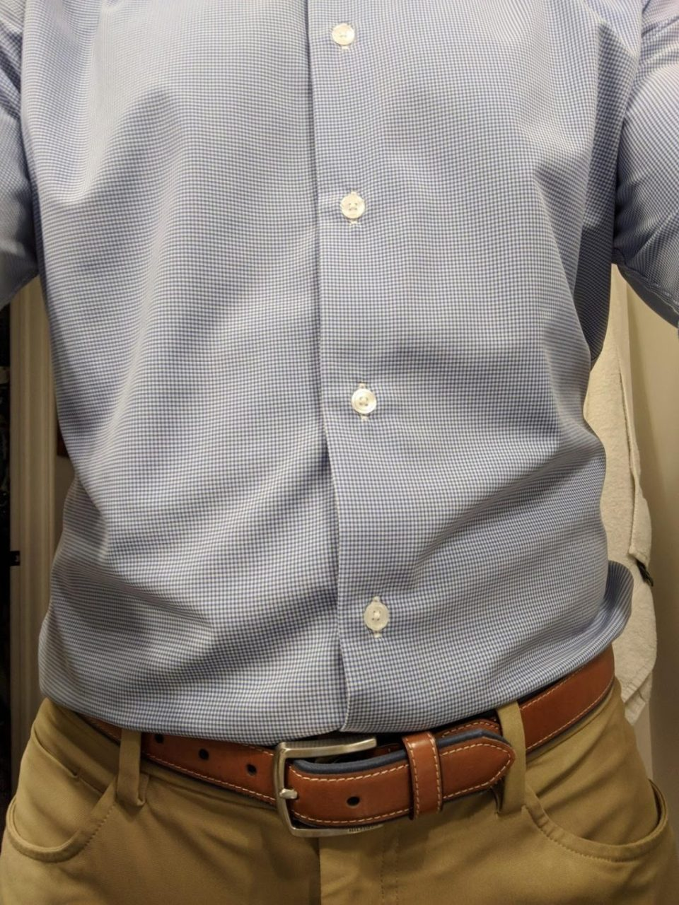 Front of Shirt - State and Liberty Shirt Review