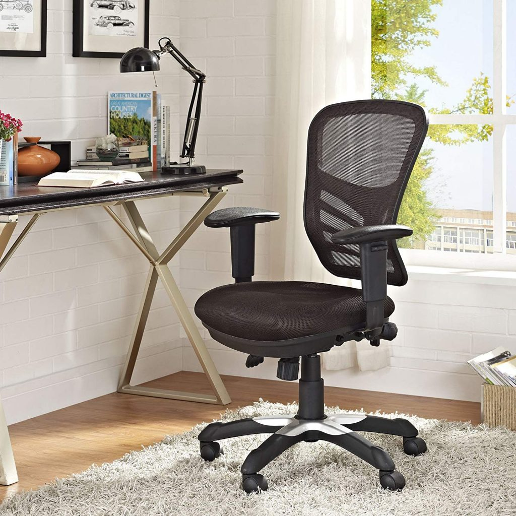 Modway Articulate Office Chair Brown 2