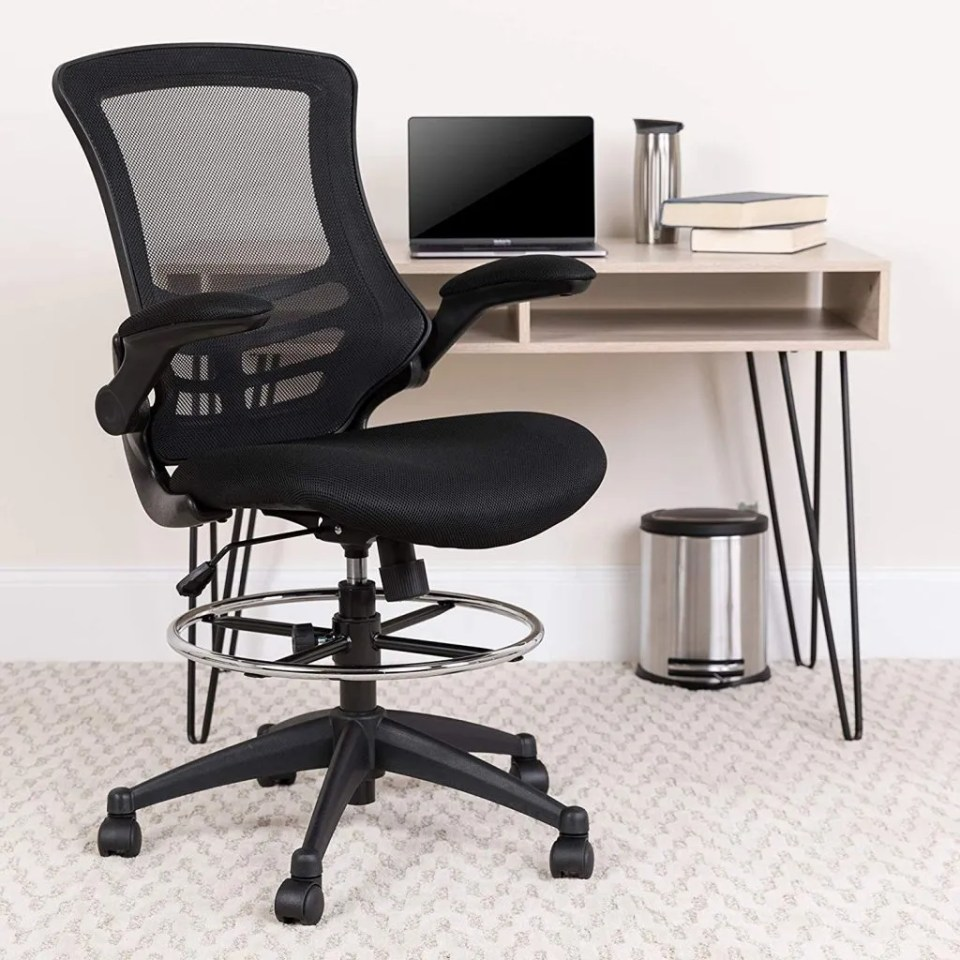 Flash Furniture Drafting Chair - Best Chairs and Stools for Standing Desks