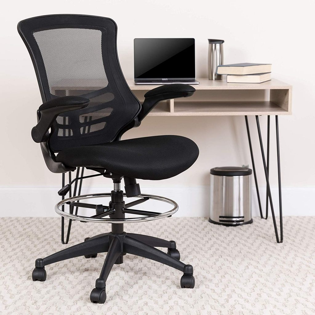 Ordinaire Flash Furniture Drafting Chair   Best Chairs And Stools For Standing Desks