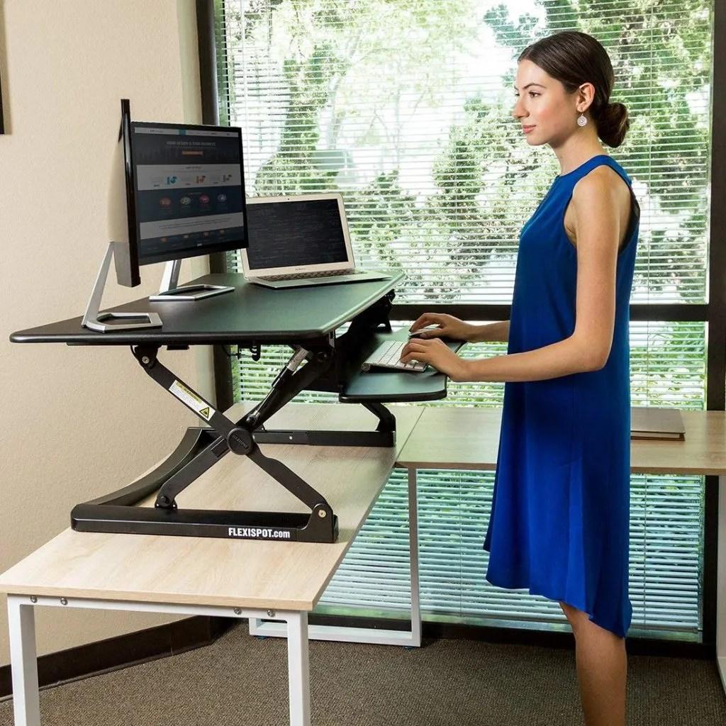 "Flexispot M Series 47"" - Best Standing Desk Converters"