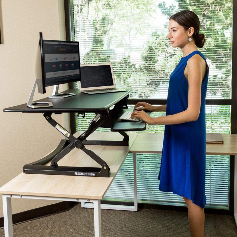 "Flexispot M Series 47"" - Best Standing Desk Converters"