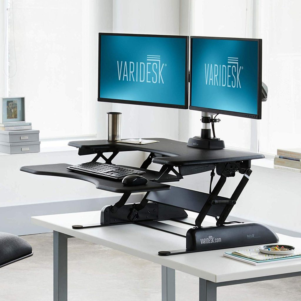 Varidesk Pro Plus 36 - Best Standing Desk Converters