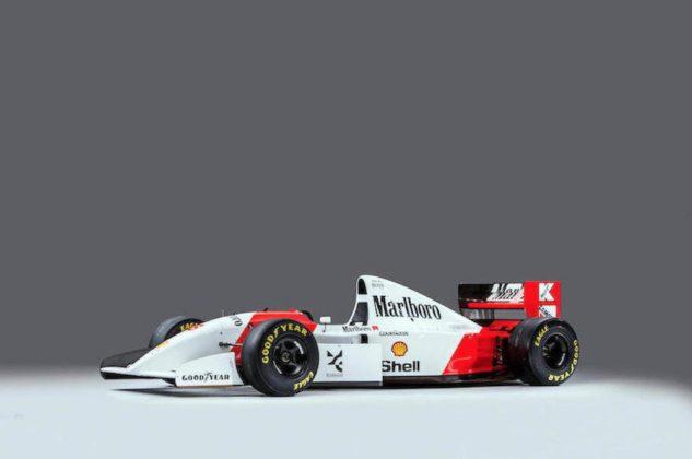Ecclestone si kúpil monopost, na ktorom jazdil slávny Ayrton Senna.