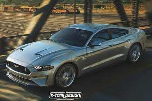 Ford chystá 4-dverový Mustang. Mohol by byť odpoveďou na rodinnú zábavu!