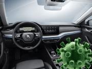 čistenie ozon dezinfekcia auto