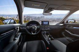Interiér Civic sedan