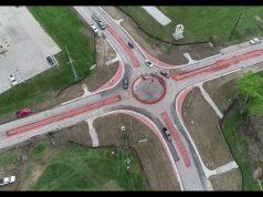V Kentucky postavili kruhový objazd