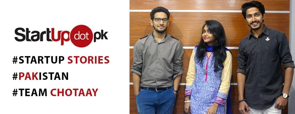 Chotaay – Doing Baray Kaam   StartupDotPK