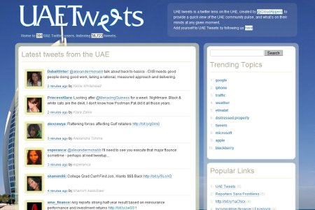 UAE Tweets