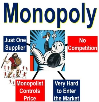 Monopoly Market Situation vs Blue Ocean Strategy