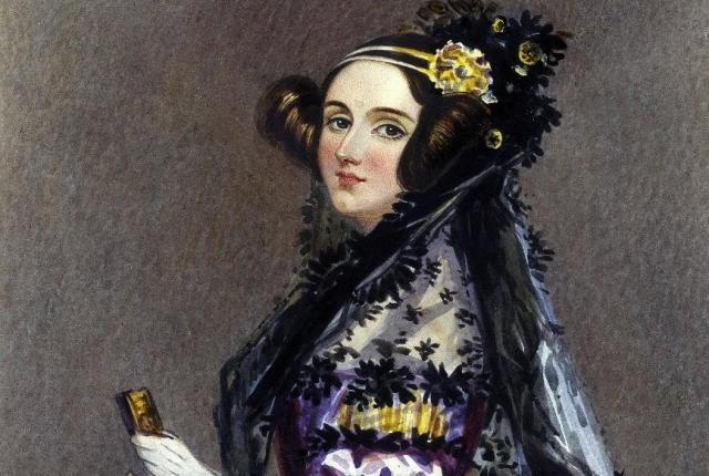 Portrait of Ada Lovelace by Chalon