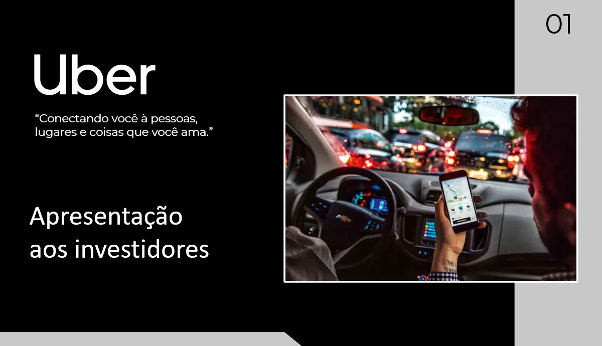 Pitch Deck do Uber