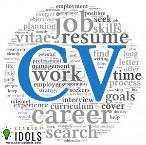 difference between cv resume and bio data startup idols