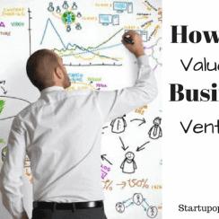 value a business venture