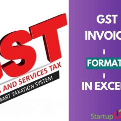 gst invoice format in excel