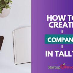how to create company in tally