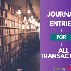 journal entries for all transactions