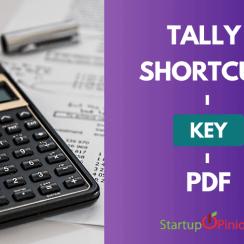 tally shortcut key pdf