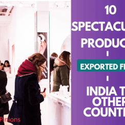 products exported from india