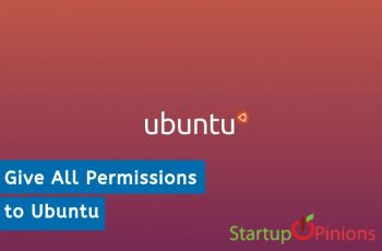Give All Permissions to Ubuntu