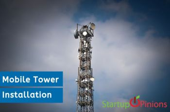 mobile tower installation