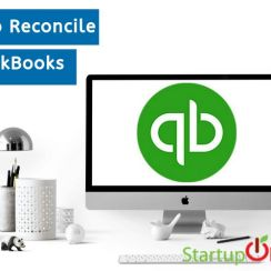 how to reconcile in quickbooks