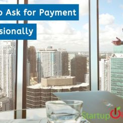 how to ask for payment professionally