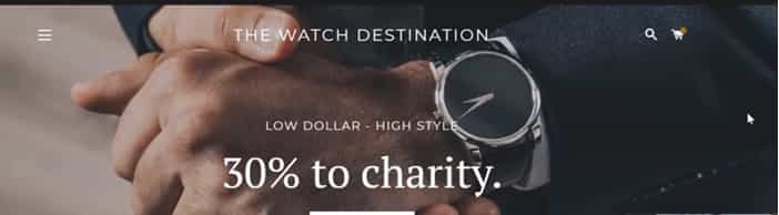 the watch destination