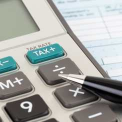 calculating the tax