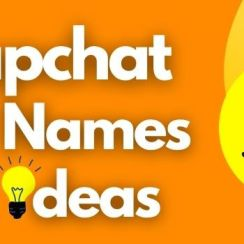 snapchat names ideas
