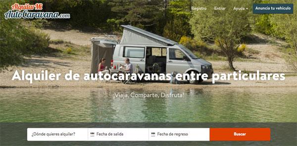 AlquilarMiAutoCaravana.com – alquiler de autocaravanas entre particulares