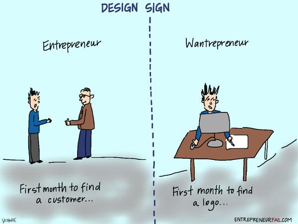 Startup bromas