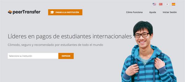 peerTransfer – pagos de estudiantes internacionales