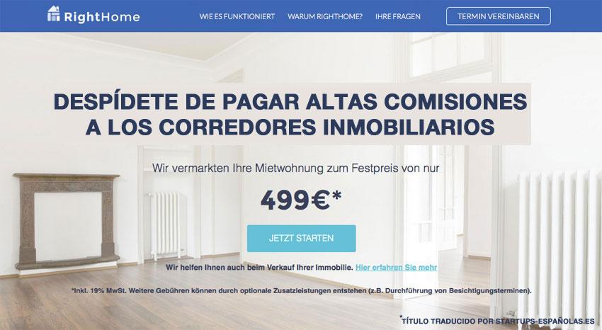 righthome.de – alquiler de pisos a comisión fija