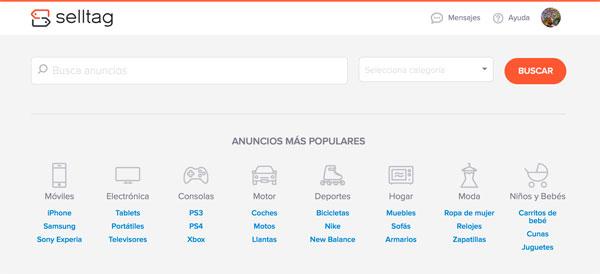 selltag.es – un wallapop con pagos y envios seguros para productos de segunda mano