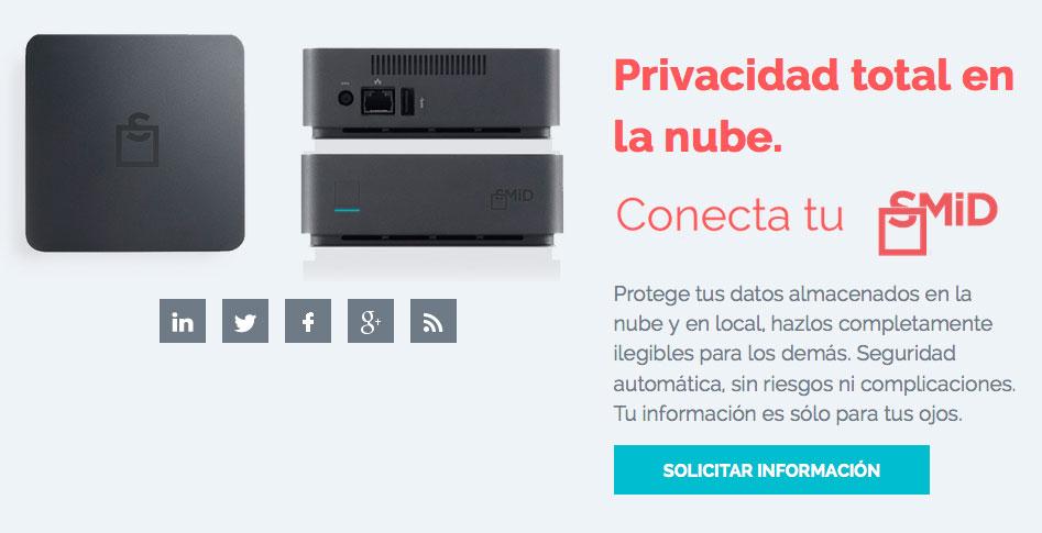 SMiD Cloud privacidad total en la nube