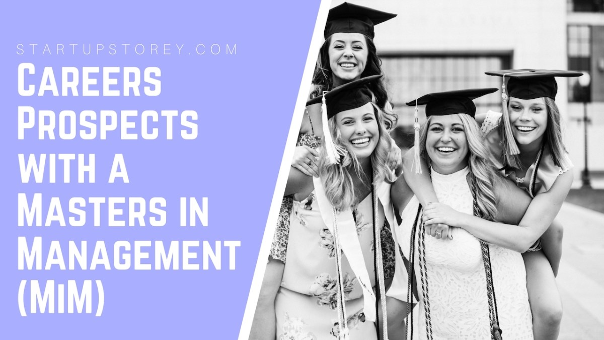 Careers Prospects with a Masters in Management (MiM)